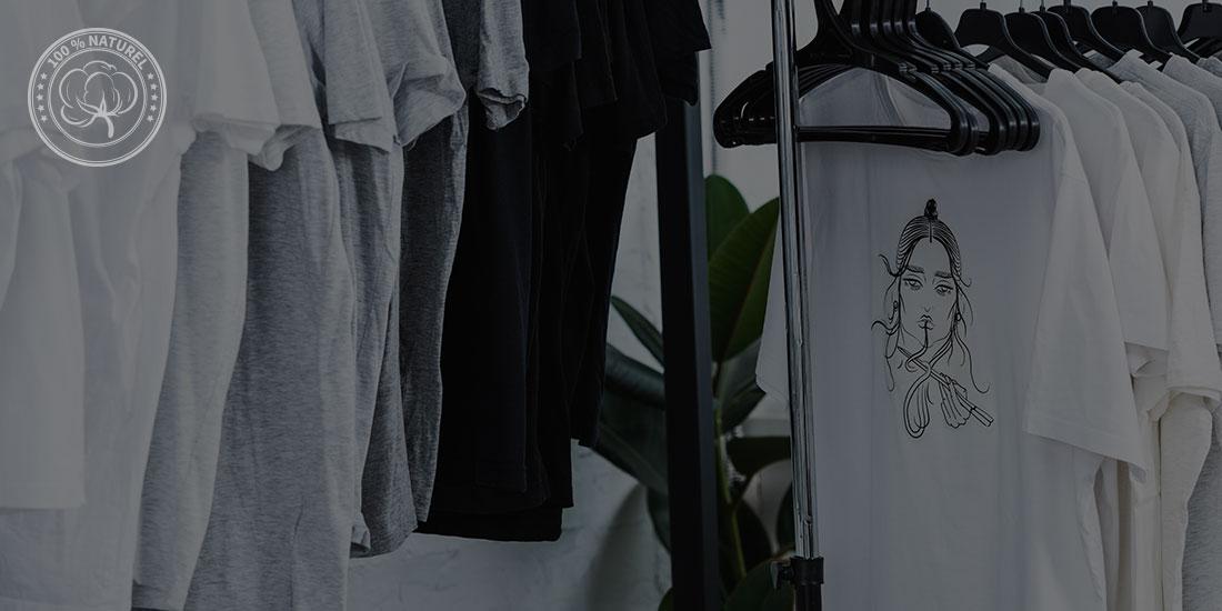 T-shirt personnalisé au coton bio